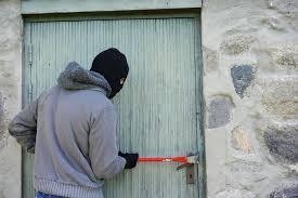 front door burglary