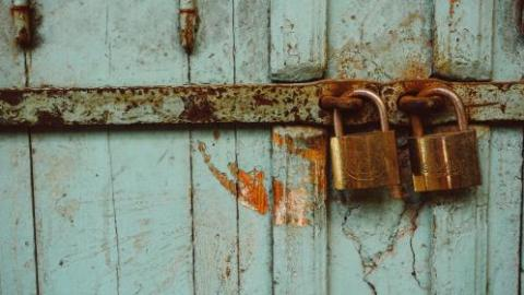 rusted locks